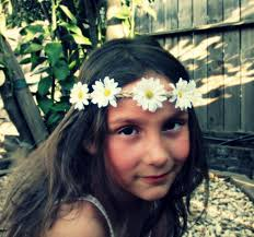 hippie flower headbands bouquet flower headband white flower tieback