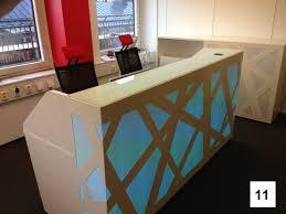 Zig Zag Reception Desk Mdd Organic Reception Desk Office Furniture Centre