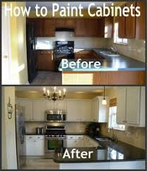 Painting Kitchen Cabinets Before And After by Before And After 25 Budget Friendly Kitchen Makeover Ideas