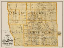 mn counties map minnesota county map prints maps of the past