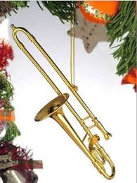 upright bass musical instrument replica ornament 5 inches