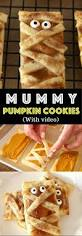 mummy pumpkin cookies tipbuzz