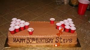 budweiser beer cake beer pong cake 30th birthday food drink pinterest beer pong