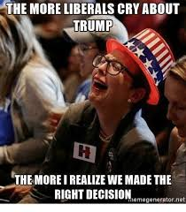 Meme Generator Crying - 25 best memes about liberal crying liberal crying memes