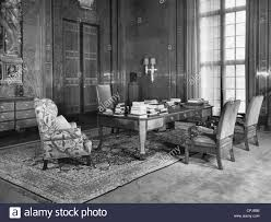 reich chancellery floor plan interior view politics buildings black and white stock photos