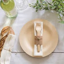plates for wedding best 25 bamboo plates wedding ideas on