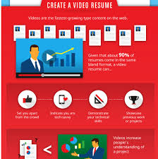 Digital Resume Infographic Some Simple Tips To Help You Job Hunt In The Digital