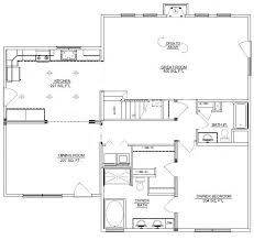 3 Bedroom Cabin Plans Beautiful 3 Bedroom Bungalow House Plans For Hall Kitchen
