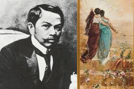 right españa y filipinas spain and the philippines 1884 juan luna this painting is an allegory of the relationship between
