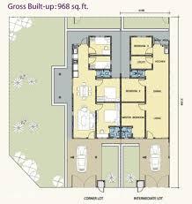 Corner House Floor Plans Single Story Corner House Plans House Scheme
