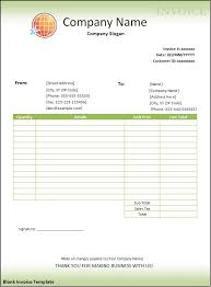 blank invoice template microsoft word blank invoice template word