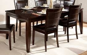 black and wood dining table dining room fabulous black rectangular acacia wood dining table