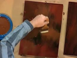 Wood Finishing Techniques Glazing by How To Create A Faux Mahogany Finish How Tos Diy