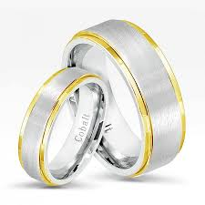 comfort wedding band 2 tone cobalt wedding band set comfort fit wedding bands 8mm for