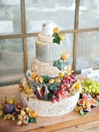 wedding cake of cheese cake a chic and cheese tower as an alternative to a