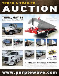 2006 volvo semi truck for sale sold may 18 truck and trailer auction purplewave inc