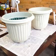 Painting Garden Pots Ideas Antique Painted Garden Pots Hometalk