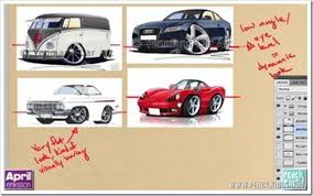 the fastest way to great classic car drawings
