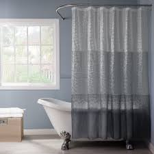 bathroom curved shower curtain rod for your shower room decor beach style bathroom design with freestanding tubs and