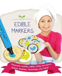 black edible marker yummyart edible pen ink markers