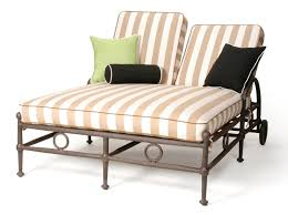 attractive double patio chaise lounge outdoor double chaise lounge