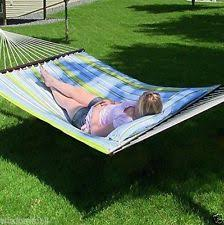 outsunny outdoor garden camping hammock patio bed swing single w