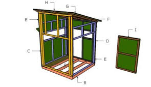 How To Make A Duck Blind 4x8 Deer Stand Plans Howtospecialist How To Build Step By