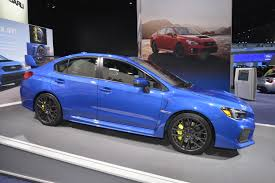 subaru wrx interior 2018 2018 subaru wrx and sti get price bump autoevolution