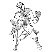amazing spiderman printable coloring pages pict 88718