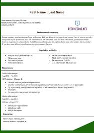Resume Templates Online Free Free Easy Resume Resume Template And Professional Resume