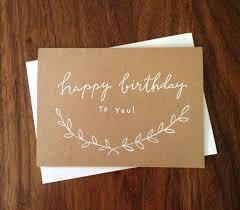 best 25 calligraphy birthday card ideas on diy