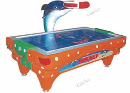 kids air hockey table commercial air hockey tables for kids indoor coin inserted dolphin