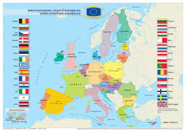 Europe Language Map by Official European Union Language Nice One Nana