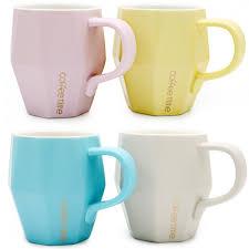 mug vs cup colorful diamond cup set of 4 cute ceramic tea coffee mug 14 oz