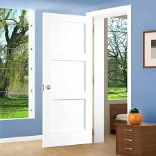 jeld wen craftsman smooth 3 panel primed molded prehung 3 panel interior door lamonteacademie org