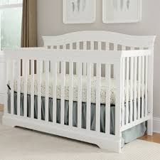 White Convertable Crib Broyhill Bowen Heights 4 In 1 Convertible Crib In White Free