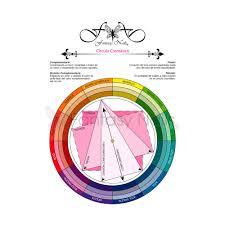 color wheel fantasy nails