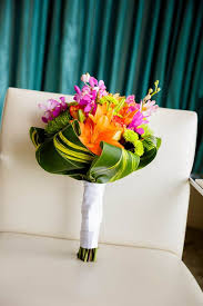 theme wedding bouquets best 25 tropical wedding bouquets ideas on tiger