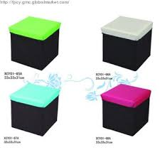 xcy01 65 co china polyester storage box ottoman for kids