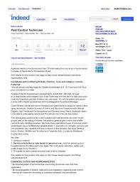 pest controller cover letter pest control cover letter example