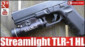 Streamlight Gun Light Streamlight Tlr 1 Hl 630 Lumen Weapon Light Youtube