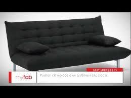 canap lit tunis canapé lit easy lounge par myfab
