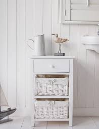 White Wooden Bathroom Furniture White Wood Free Standing Bathroom Storage Cabinet Unit Home Designs