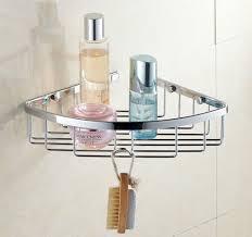 Bathroom Wire Rack Wall Mount Wire Basket Shower Shelf Chrome B5101 Wire Basket