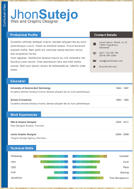 Free Cv Resume 50 Free Resume Cv Templates