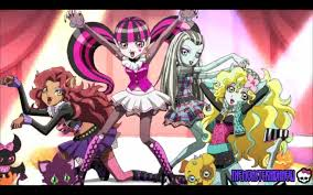 Monster Halloween by Monster High Anime Scary Cool Girls Episode 2