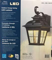 altair lighting led outdoor lantern installation meideas