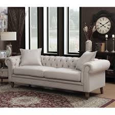 Sofas Chesterfield Ac Pacific Juliet Chesterfield Sofa Reviews Wayfair