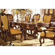 aico palais royale rectangular dining table only in rococo cognac