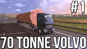 volvo commercial parts seventy tonne volvo part 1 euro truck simulator 2 youtube
